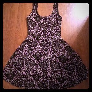 Cute pink black dress